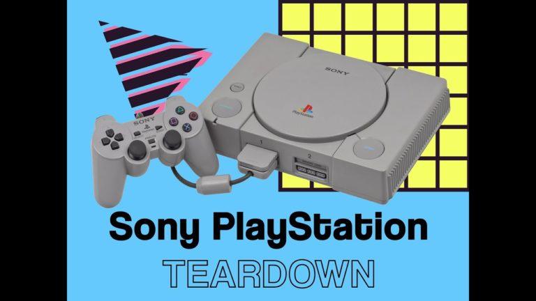 PlayStation 1 parçalarına ayrıldı!