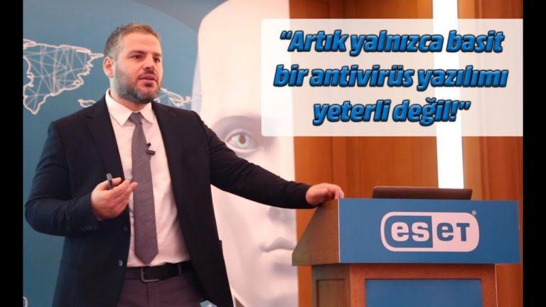 ESET yeni ürünlerini tanıttı! Artık sadece antivirus yeterli değil!