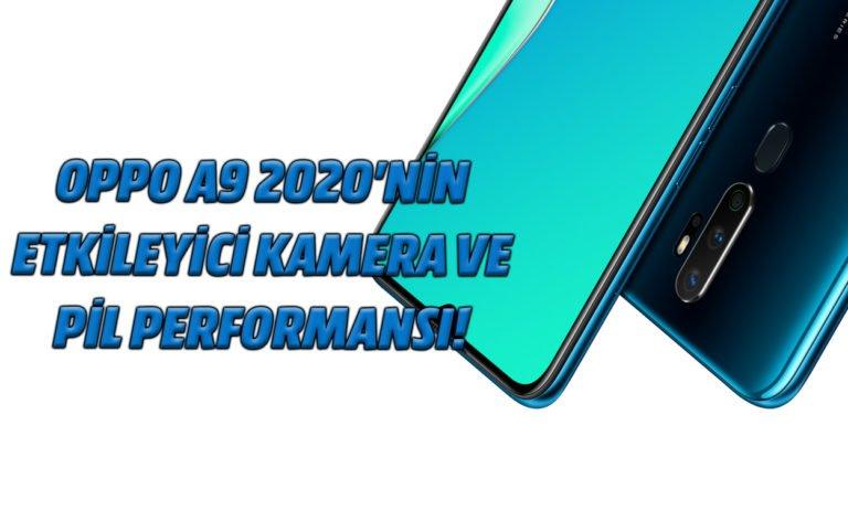 Oppo A9 2020'nin etkileyici kamera ve pil performansı!