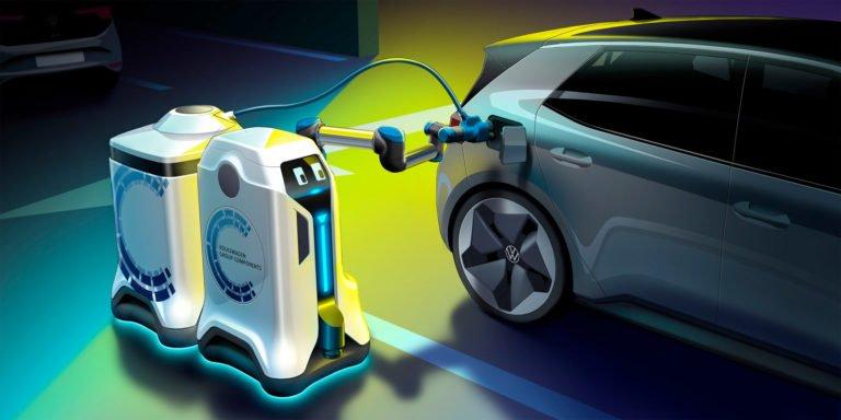 VW otonom şarj robotu geliştiriyor