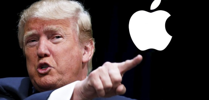 Donald Trump Apple'a öfkesini kustu!