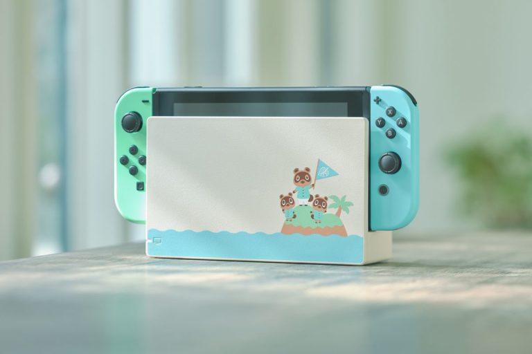 Nintendo Switch Animal Crossing New Horizons Edition geliyor!