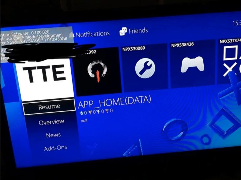 PlayStation 5 arayüzü