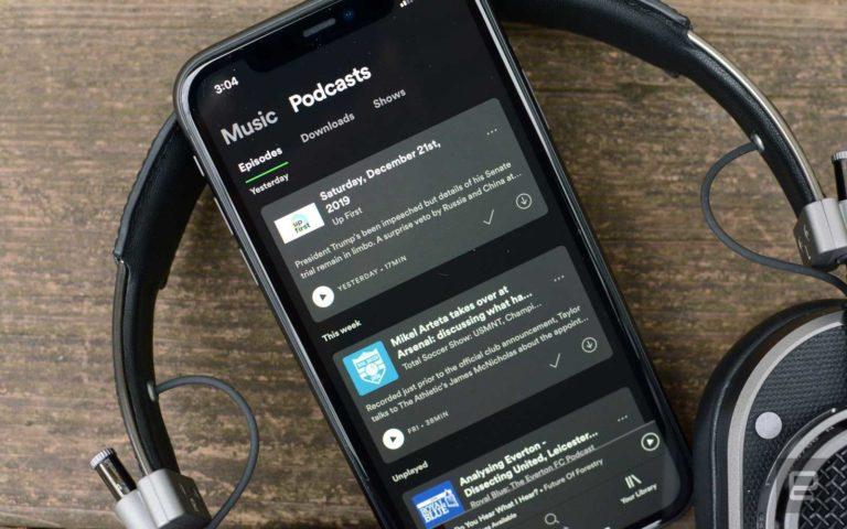 Spotify podcast reklamlarını yeniden düzenliyor