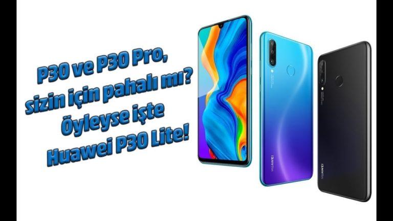 Huawei P30 Lite inceleme! Bu kez 64GB'lık!