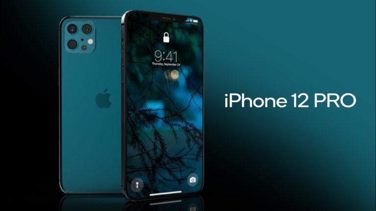 iPhone 12 Pro için heyecanlandıran konsept