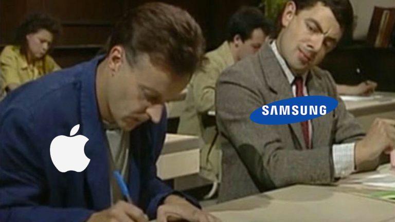 Samsung Pass ile göz göre göre Apple'ın logolarını kopyaladı!