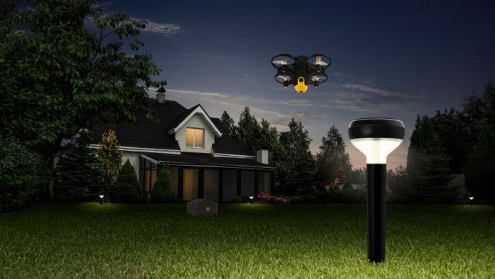 Drone ile ev koruma