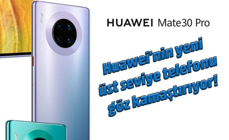 Huawei Mate 30 Pro inceleme! Ecevit'in kalbini çalan telefon!