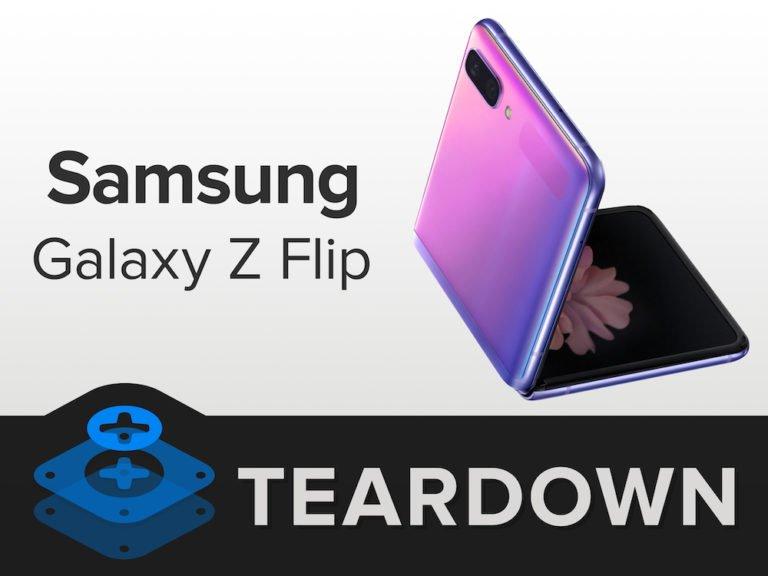 Galaxy Z Flip parçalarına ayrıldı!