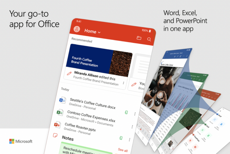 Microsoft hepsi bir arada Office uygulaması yayına girdi