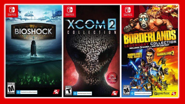 Nintendo Switch için BioShock: The Collection XCOM 2 Collection ve Borderlands geliyor