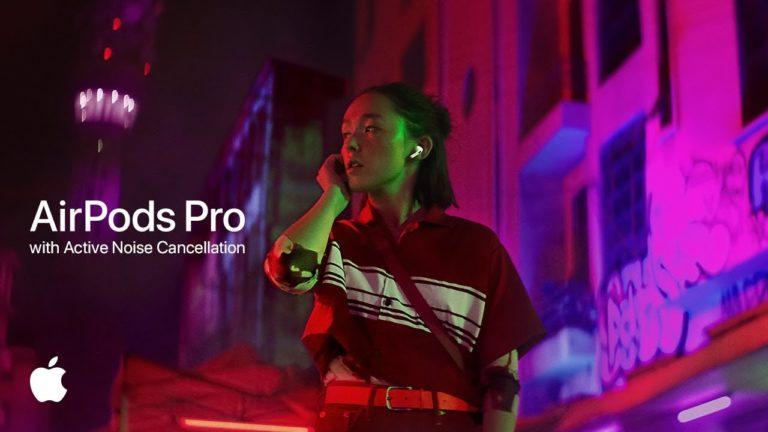 AirPods Pro için yeni reklam yayınlandı!
