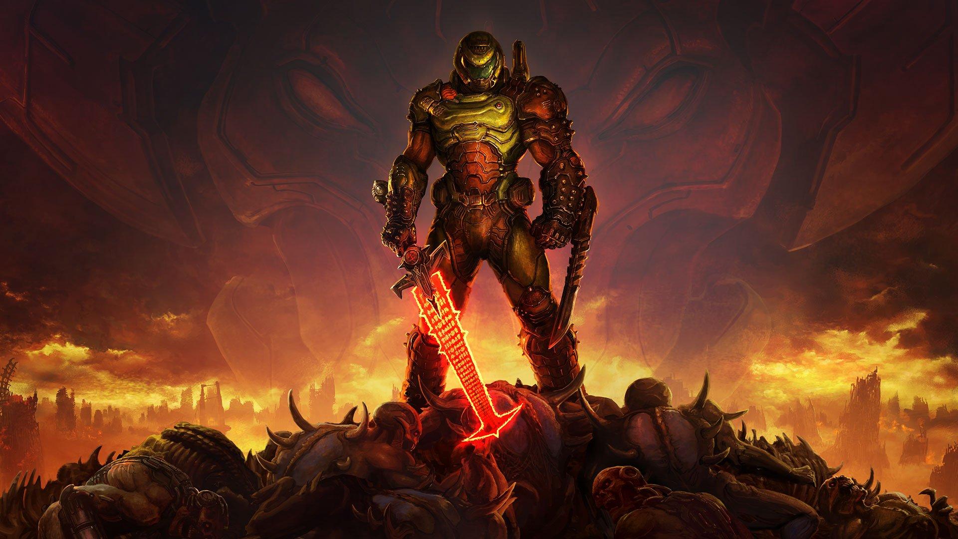Doom Eternal resmi olarak çıktı, ama korsana da yenik düştü
