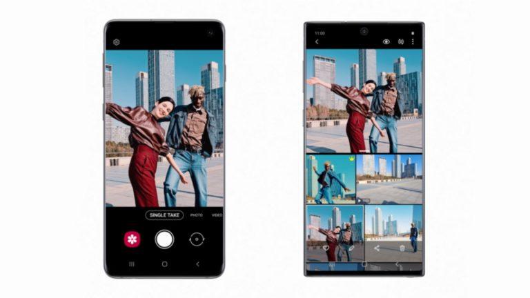 One UI 2.1 ile Galaxy S20 kamera özellikleri S10 ve Note 10'a geliyor!