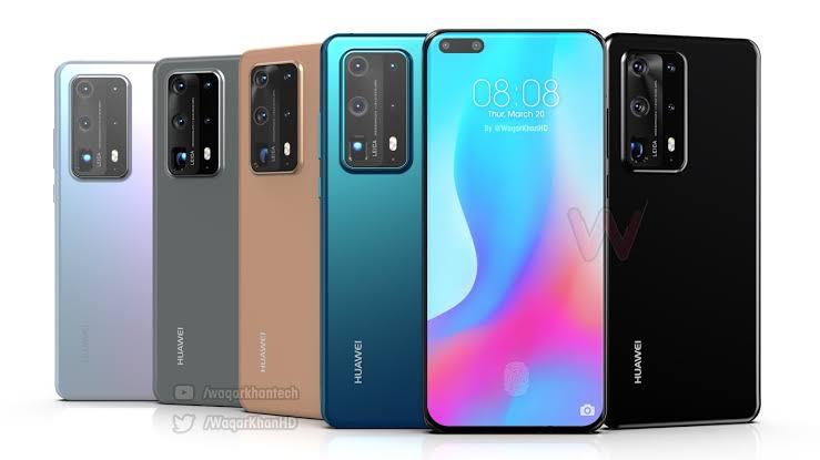 Huawei P 40 serisinden yeni fotoğraflar sızdırıldı