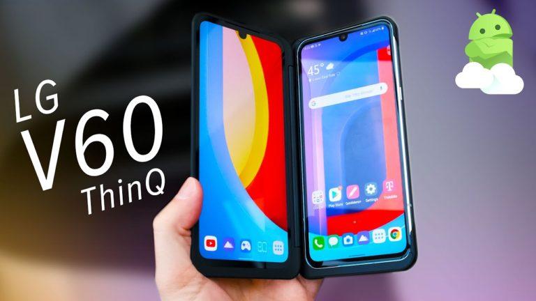 Çift ekranlı LG V60 ThinQ 5G fiyatı açıklandı!