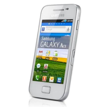 Samsung Galaxy Ace 158 MB