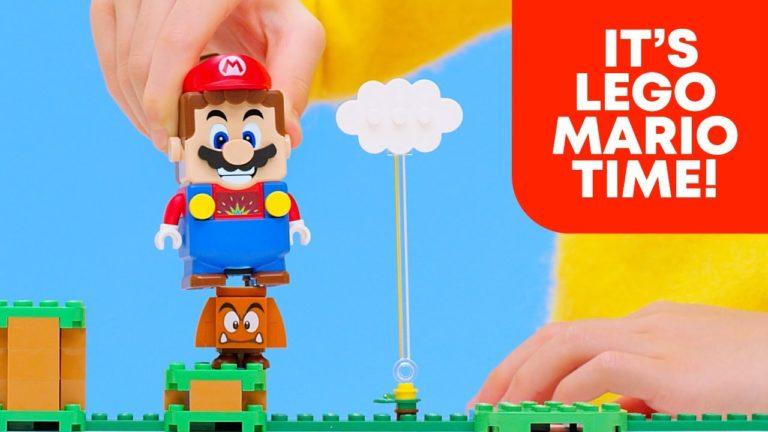 LEGO ile Nintendo anlaştı! Super Mario temalı LEGO geliyor!