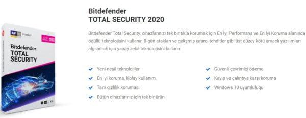 Bitdefender Total Security - Ebeveny Kontrolü ile ailenizi güvende tutun!