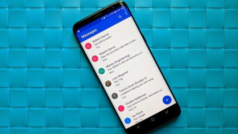 Google Mesajlar RCS özelliği Samsung cihazlarda kullanılabilecek