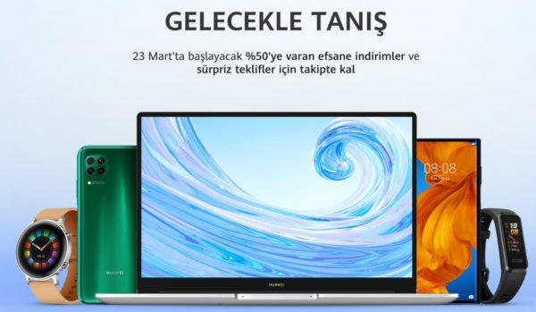 Huawei Online Mağazası, Türkiye'de sürprizlerle birlikte açılıyor