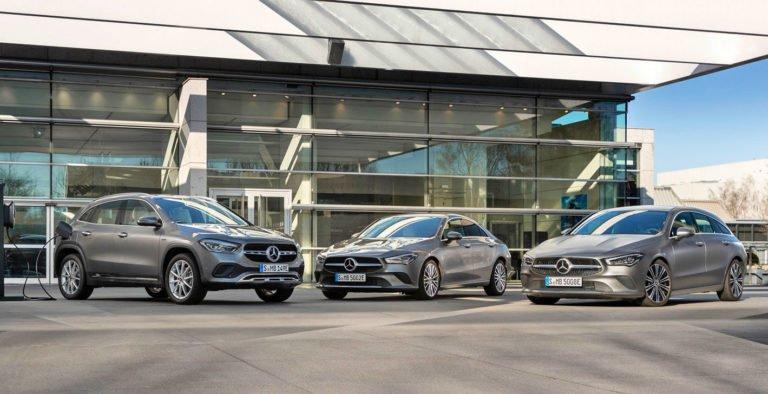 Mercedes hibrid CLA ve GLA modellerini tanıttı