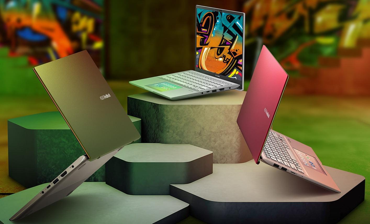 Asus VivoBook S14 (S432FL) ile farklı ve renkli bir dizüstü deneyimi