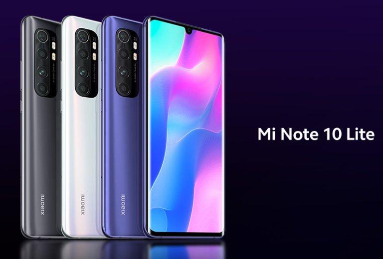 Xiaomi Mi Note 10 Lite ve Redmi Note 9 için geri sayım başladı!