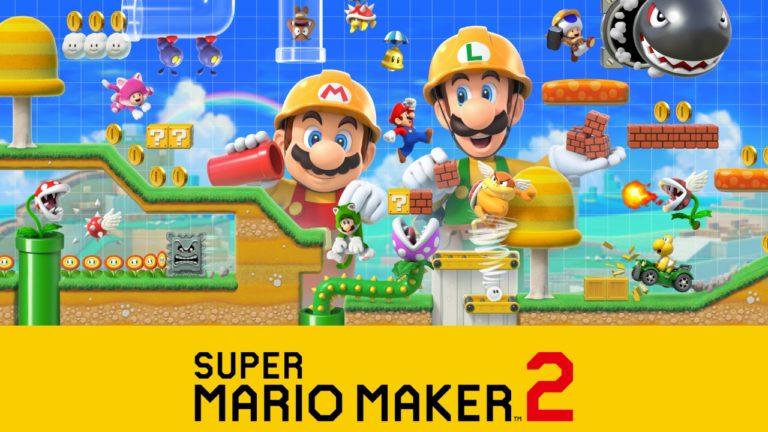 Super Mario Maker 2 için dev güncelleme!