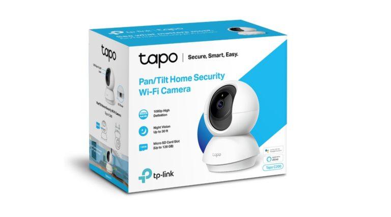 TP-Link Tapo C200 güvenlik kamerasıyla her şey çok kolay