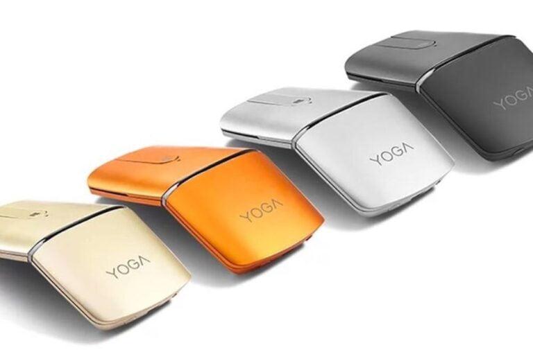 Lenovo Yoga Mouse şık tasarımı ile dikkat çekiyor