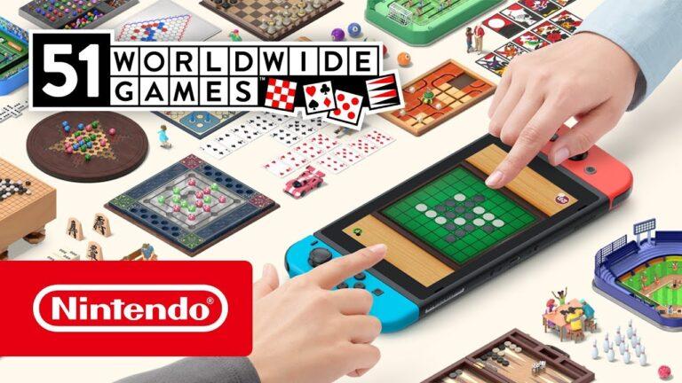 Tavla dahil 51 oyunlu 51 Worldwide Games yakında Nintendo Switch'e geliyor!