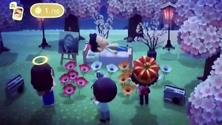 Animal Crossing New Horizons'da koronavirüs yüzünden hayatını kaybeden gence cenaze töreni düzenlendi