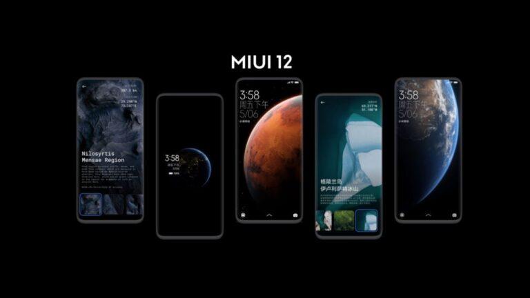 MIUI 12 güncellemesi ilk hangi modellere gelecek?