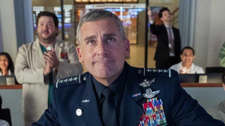 Netflix Space Force Trump ile alay etmeye doyamadı