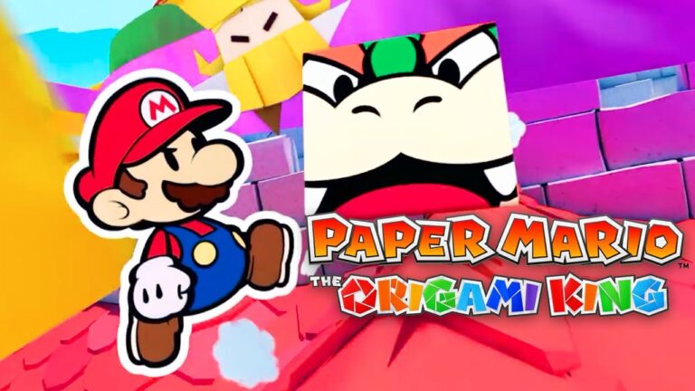 Paper Mario The Origami King geliyor!