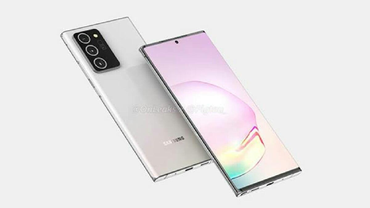 Samsung Galaxy Note 20 konsept tasarım