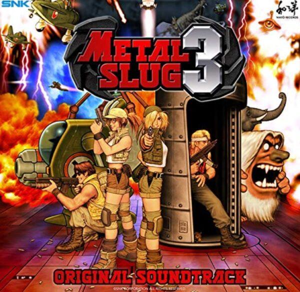 Metal Slug 3 müzikleri plak formatında satışa sunuluyor