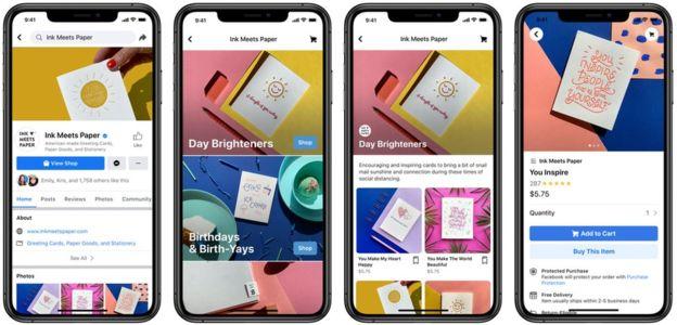Facebook ve Instagram dijital mağazaları yayına açtı