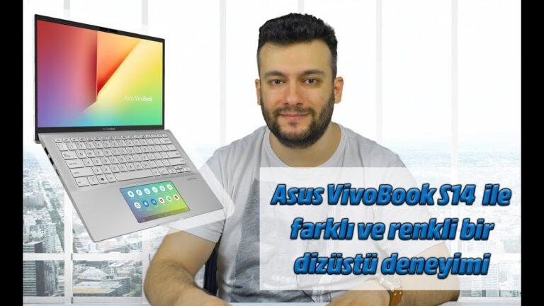 Asus VivoBook S14 inceleme. Bu laptop'ta 2 ekran var!