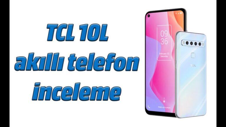 TCL 10L akıllı telefon inceleme. Büyük ekran ve toplamda 5 kamera!