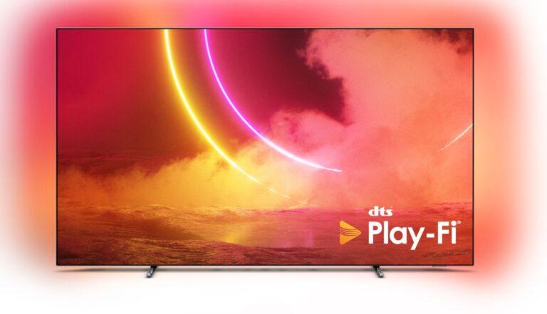 DTS Play-Fi destekli Philips TV'ler hazır