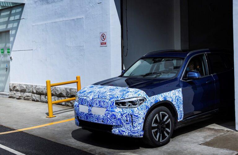 Yeni BMW iX3 için geri sayım başladı!