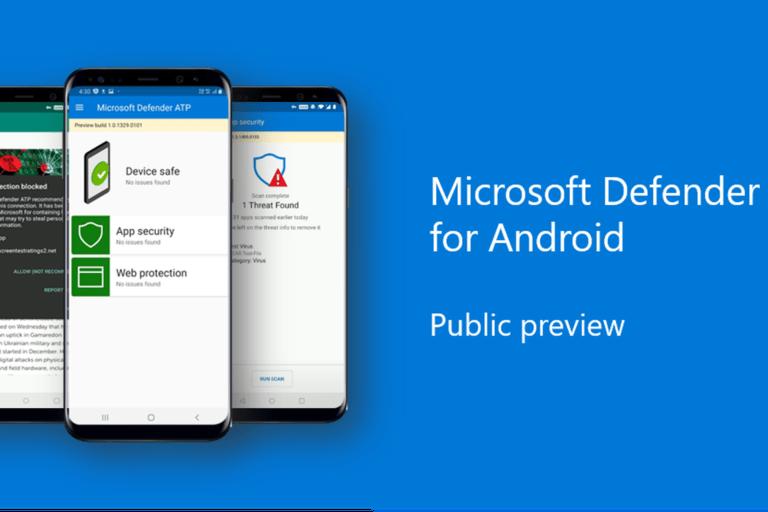 Microsoft Defender Android için çıktı!