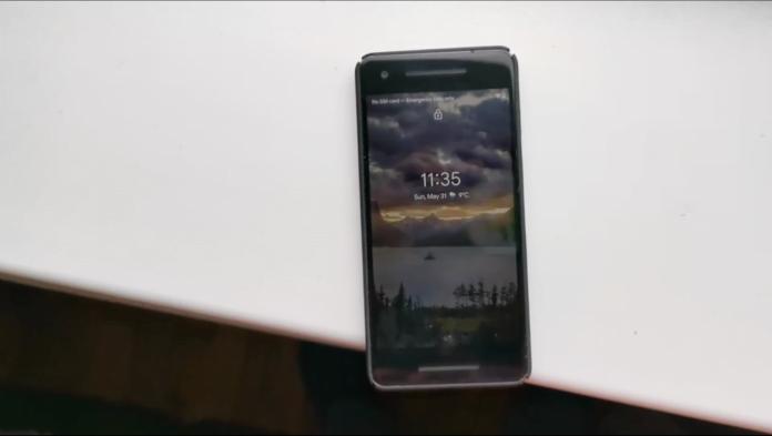 Android'i bozan duvar kağıdı