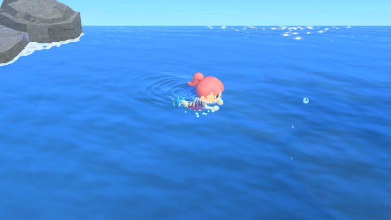 Animal Crossing New Horizons için yüzme güncellemesi geliyor!