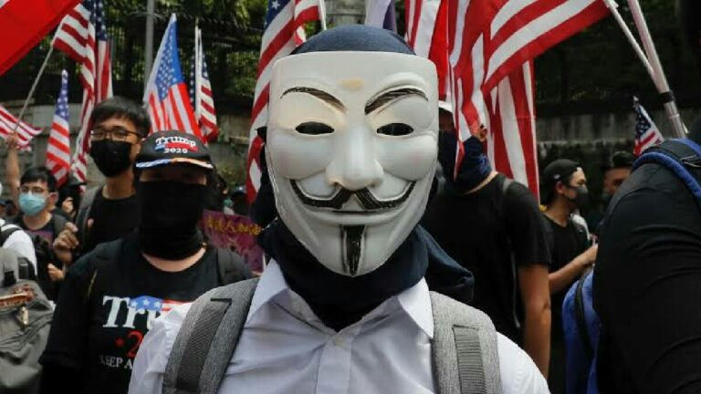Anonymous korkunç bir video yayınladı! ABD alarm verdi