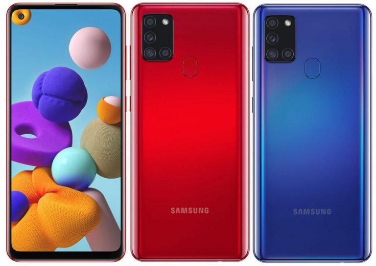Galaxy A21s tanıtıldı! İşte teknik özellikleri!