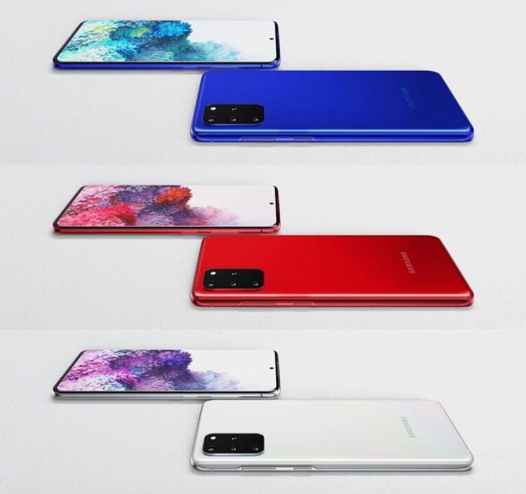 Galaxy S20 Plus yeni renk seçenekleri ile geliyor!